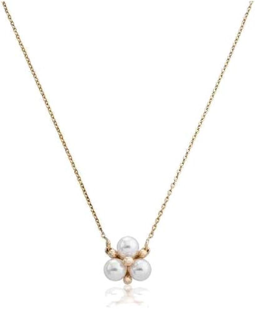 Majorica Collar Mujer en Plata bañada en Oro con Perlas 15296.01.1.000.010.1