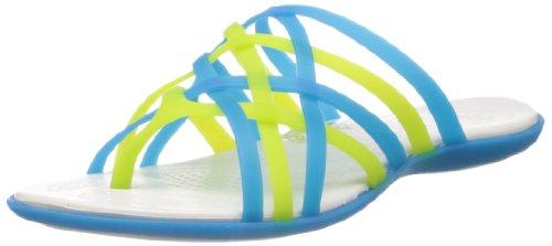 Sandales oyster Femme Flip 14122 Huarache ocean Crocs Bleu qWgt68vww
