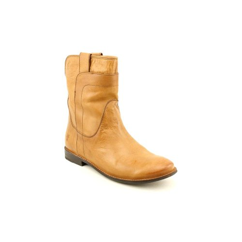 Frye Womens Paige Short Riding Camel Smooth Vintage Leather Boot 6.5 B - Medium glUKfx1PQP
