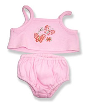 """Girls Cami Set Outfit Teddy Bear Clothes Fit 14"""" - 18"""" Build-a-bear, Vermont Teddy Bears, and Make Your Own Stuffed Animals"""