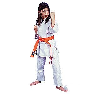 ProForce 6oz 100% Cotton Karate Gi / Uniform - White - Size 0