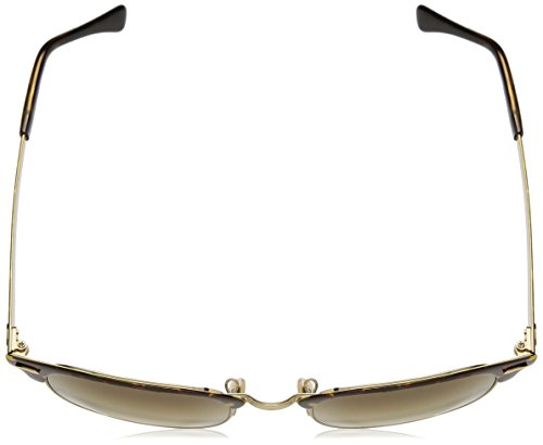 Ray-Ban Metal Unisex Square Sunglasses, Gold Top Havana, 50 mm