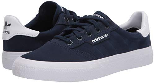 adidas Originals 3MC Sneaker, Collegiate Navy/FTWR White/Gum, 4.5 M US