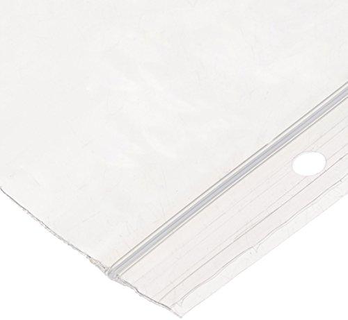 [해외]Elkay F20303H 2mil 라인 싱글 트랙 씰 탑 헐 홀, 3 x 3, 클리어 100 카운트 (Pack of 10)/Elkay F20303H 2 mil Line Single Track Seal Top Bag with Hang Hole, 3  x 3 , Clear 100 count (Pack of 10)
