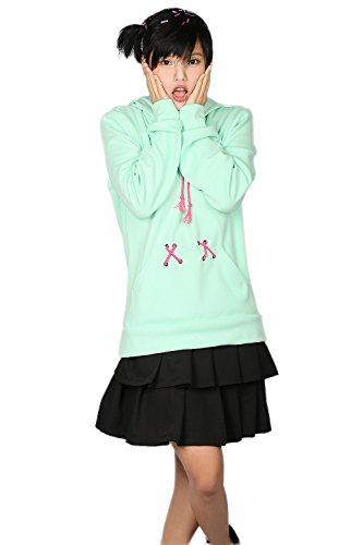 [XCOSER Vanellope Von Schweetz Hoodie Sweatshirt Cosplay Costume for Women XL] (Vanellope Costume)