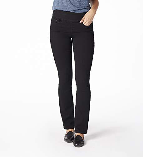 (Jag Jeans Women's Nora Skinny Pull on Jean, Black Void, 10)