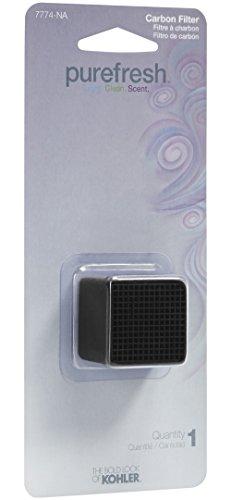 (KOHLER K-7774-NA Refill Carbon Filter for Purefresh Toilet Seat)