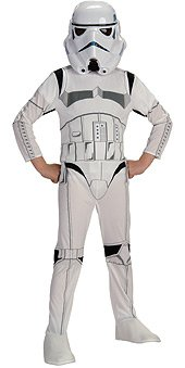 Cheap Star Wars Costumes (Stormtrooper Costume - Medium)