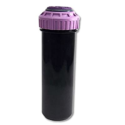 K-Rain RCW SuperPro Sprinkler Head (Purple Top For Reclaimed Water) - RCW - WITH FLOW SHUT OFF FEATURE