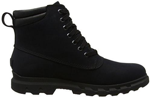 black Para Nieve Lace black Sorel Botas Negro Hombre De Portzman I854OX