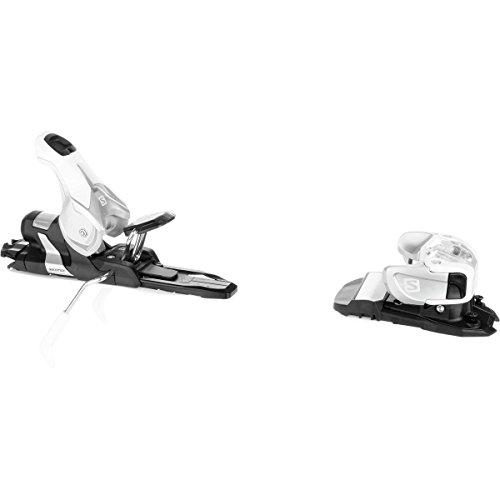 Salomon Warden 11 Silver/White Ski Bindings w/ 100mm Brake