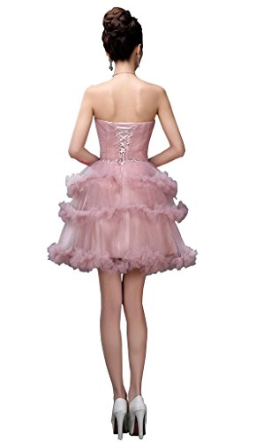Kleid Kleid Party Ball drasawee Cameo Abend Trägerlos Kurz Junior Homecoming Ballkleid xYwxgaqAP