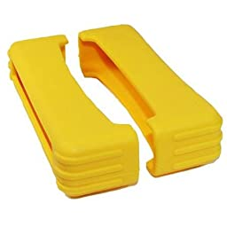 82 Series Rubber Boot Size 7 - Yellow (Pair) - 1.5 Inch X 5.25 Inch X 1.25 Inch