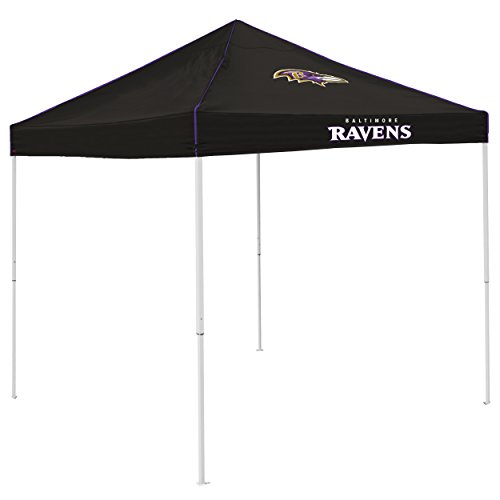 Logo Brands NFL Baltimore Ravens Pop-Up Canopy