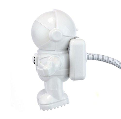 LEERYA Creative Astronaut USB LED Light Lamp Laptop Desktop Computer Accessory