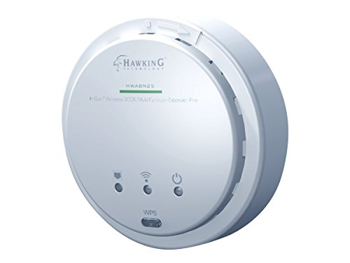 - Hawking Technology Hi-Gain Wireless-300N Multifunction Access Point, Bridge, Repeater and Range Extender w/ PoE Support (HWABN25)