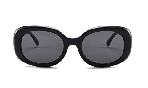 Unisex Vintage style Big Sunglasses Cobain Jackie O Cat Eye Retro Womens Mens Clout Mod Trendy ()
