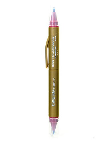 Itoya Doubleheader Calligraphy Marker cabernet [PACK OF 12 ]