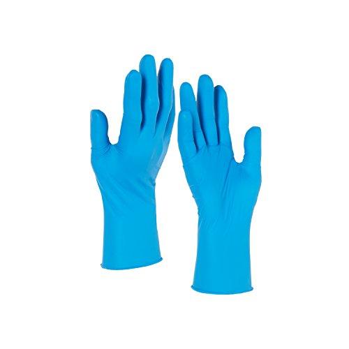 Kleenguard G10 Arctic Blue Nitrile Gloves (90098), Ambidextrous, Powder Free, Large, 10 Dispensers / Case, 200 Gloves / Dispenser, 2,000 Gloves / Case