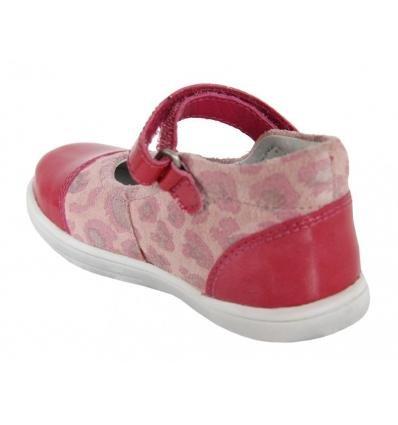 Scarpe per Bambina KICKERS 413500-10 TREMIMI ROSE LEOPARD size-map 20