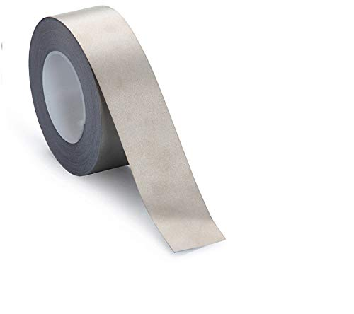 RF//EMI//EMF Shielding,Grounding Faraday Tape,Copper Nickel Plated Conductive Electrode Tape Fabric 2 inch widex11 Yards Long