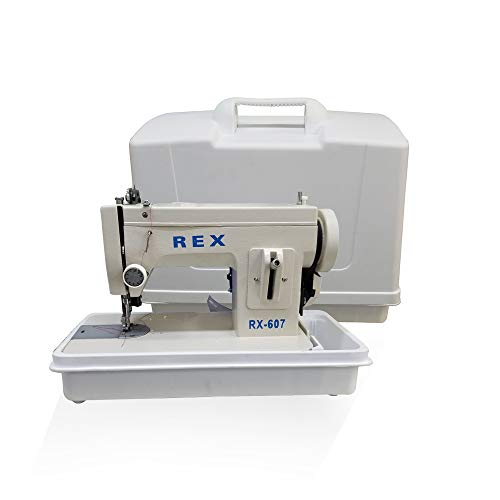 REX Portable Walking-Foot Sewing Machine (Machine with Carrying Case)