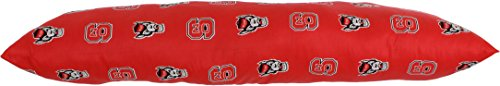 College Covers North Carolina State Wolfpack Printed Body Pillow, 20'' x 60'' by College Covers (Image #2)