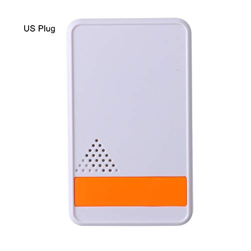 LED Night Light Kekailu, Electronic Pest Reject LED Ultrasonic Safe Mosquito Repellent Rat Mice Repeller - US Plug White + Orange ()