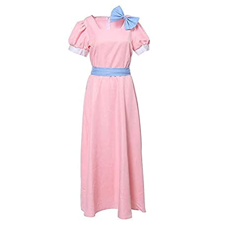GGOODD Mujer Princesa Falda Cosplay Costume Peterpan Wendy Rachel ...