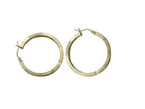 HOOP EARRINGS (Bonded Anniversary Ring)