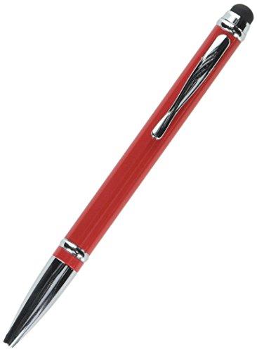 Levenger AP13108 RD NM Chroma Lustra Stylus Ballpoint Pen