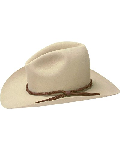 Stetson Men's 6X Gus Fur Felt Cowboy Hat Silverbelly 7 1/8