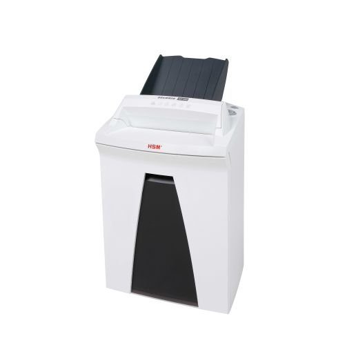 HSM SECURIO AF150 L5 Cross-Cut Shredder with Automatic Paper Feed; Shreds up to 150 Automatically/7 manually; 9 Gallon Capacity