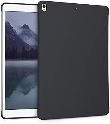 2019 - Carcasa Trasera de Silicona para Tab kwmobile Funda Inteligente para Apple iPad Air 3 Case Negro Mate