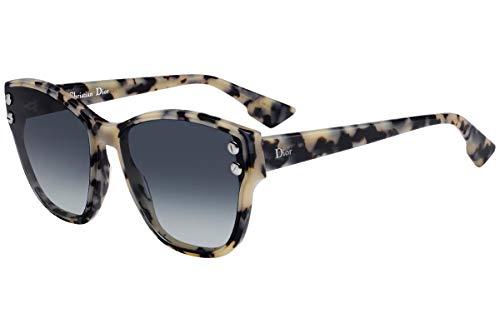 Christian Dior DiorAddict 3 Sunglasses White Havana w/Grey Lens 60mm AHF1I Dior Addict 3 ()