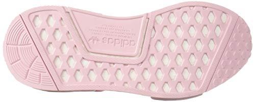 adidas Originals Unisex NMD_R1 Running Shoe Clear Shock Pink/White, 3.5 M US Big Kid by adidas Originals (Image #3)
