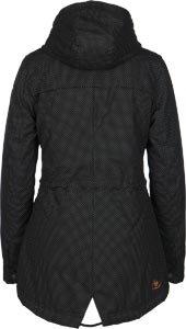 Noir W Laika Minidots Veste Ragwear D'hiver 68qXAa80W
