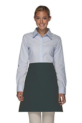 Averill's Sharper Uniforms Half Bistro Apron Inset pocket (Set of 6) ()