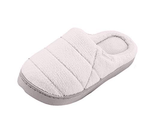 Peluche Caldo Donna Beige Pantofole Foam Invernali Casa Icegrey Antiscivolo Da Unisex S0qn4B