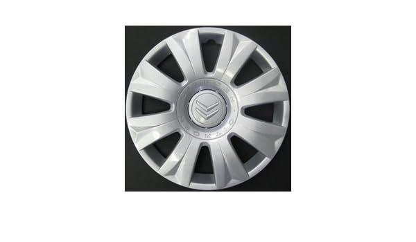 Embellecedores tapacubos Copa rueda x Citroen C3 Picasso 15 pulgadas para ruedas: Amazon.es: Coche y moto