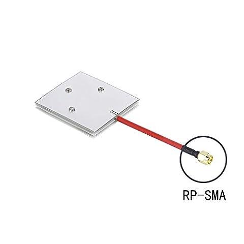 RCmall High Gain Panel Antenna Aerial 5.8G 14dBi RX RP-SMA Male for Multicopter DJI Phantom RC Aircraft FPV