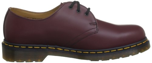 EU Pw mixte Martens UK Rouge noir Flâneurs 1461 Cherry Red Smooth Dr adulte O8xaqnUgWW