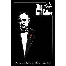 The Godfather - Movie Poster (Marlon Brando) (I'm Gonna Make Him An Offer...) (Size: 24'' x 36'')