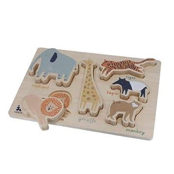 Holz Sebra Arctic Animals Puzzle