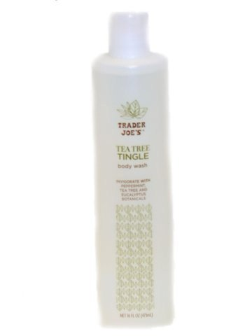Trader Joes Tea Tree Tingle Body Wash (Pack of 2)