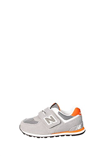 New Balance Sneakers Infant-KG574P1I Suede/Mesh ORANGE/GREY