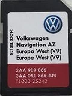 Los más nuevos VW SKODA ASIENTO RNS 315 AMUNDSEN V9 TARJETA SD UK WEST EUROPE MAP UPDATE…