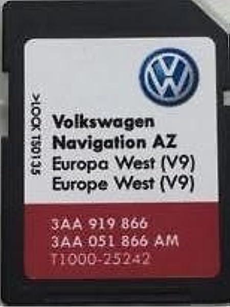 Los más nuevos VW SKODA ASIENTO RNS 315 AMUNDSEN V9 TARJETA SD UK ...