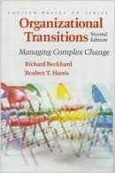Book Organizational Transitions: Understanding Complex Change (Series on Organization Development) by Richard Beckhard, Reuben T. Harris (1977)