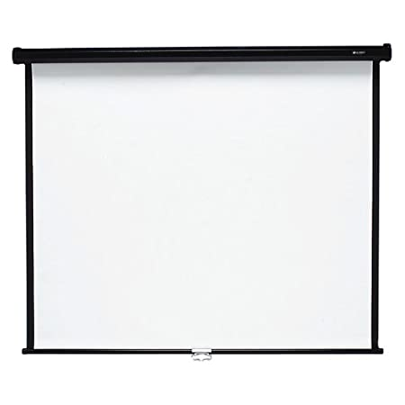 Quartet Wall and Ceiling Projection Screen, 70 x 70 Inches (670S)